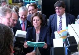 Ministerpräsidentin Malu Dreyer auf Sommerreise
