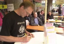 Eintracht Frankfurt Fans spielen Lotto