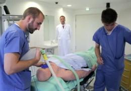 Patient zum Üben und Lernen