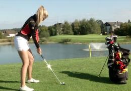 Auf dem Weg zur Profi-Golferin