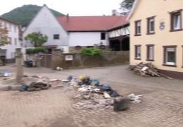 Obermoschel: Eine Woche nach der Flut