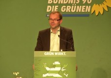 Grüne Regierungspartei in Hessen