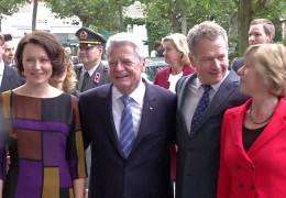 Bundespräsident Gauck auf der Buchmesse