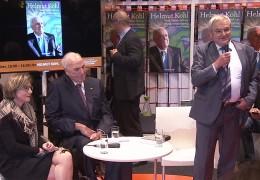 Altbundeskanzler Helmut Kohl auf der Buchmesse
