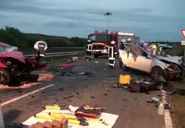 Zwei Tote bei Unfällen in Rheinland-Pfalz