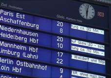 Bahnstreik zum Ferienbeginn