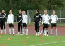 Frauen-Nationalmannschaft in Frankfurt