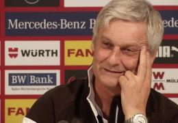 Eintracht Frankfurt vor Spiel gegen Stuttgart