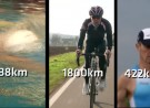 Ultra-Ironman-Teilnehmer im Portrait