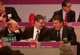 Sigmar Gabriel zu Besuch bei der SPD in Hessen