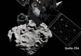 Kometenmission Rosetta auf dem Zielanflug