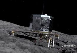 Kometenmission arbeitet erfolgreich