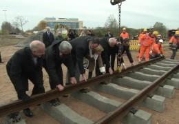 Mainzelbahn bekommt Schienen
