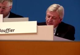 Klöckner und Bouffier wiedergewählt