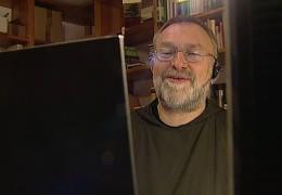 Zu Gast im Studio: Fernsehmönch Bruder Paulus aus Frankfurt