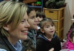 Julia Klöckner zu Besuch in der Aufnahmeeinrichtung für Asylsuchende in Trier