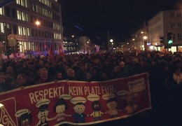 """Kagida""-Demo in Kassel"
