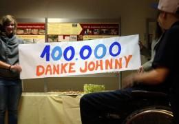 """100.000 Euro Spenden – Jonathan Heimes sammelt für """"Hilfe für krebskranke Kinder"""""""