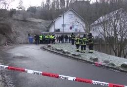 Zwei Tage nach dem Hangrutsch in Linz am Rhein – ein Haus ist nicht mehr zu retten