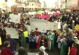 Marsch für Kinderrechte