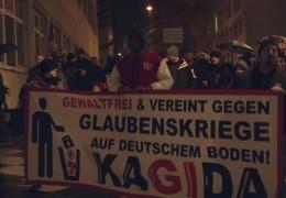 Pegida Ableger in Frankfurt