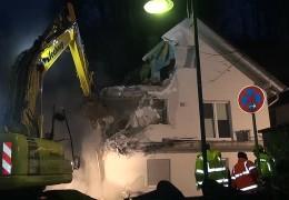 Erstes Haus in Linz abgerissen