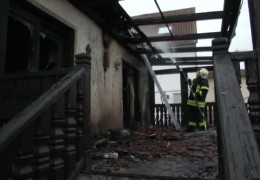 Rentnerin stirbt bei Hausbrand
