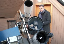"""Auf der Jagd nach dem Kometen """"Lovejoy"""""""