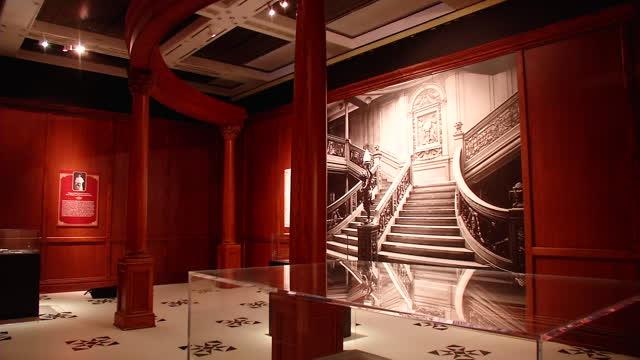 der untergang der titanic ausstellung im historischen museum der pfalz in speyer 17 30live. Black Bedroom Furniture Sets. Home Design Ideas