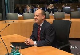 Michael Hartmann vor dem Edathy-Untersuchungsausschuss