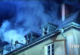 Zwei Brände im Großraum Trier