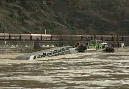 Havarie auf dem Rhein soll neu untersucht werden