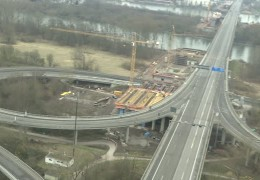 Schiersteiner Brücke auf unbestimmte Zeit gesperrt