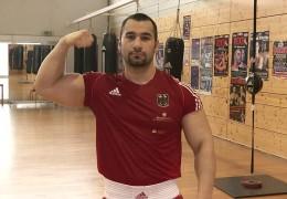 Deutscher Meister im Superschwergewicht: Ali Kiydin aus Oberursel