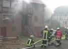 Zwillinge sterben nach Brand in Neuental