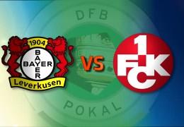 DFB-Pokal Achtelfinale: Kaiserslautern vs. Leverkusen