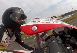 Nachwuchs-Motorradfahrer Philipp Freitag