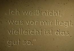Gedenkstätte auf EZB-Gelände