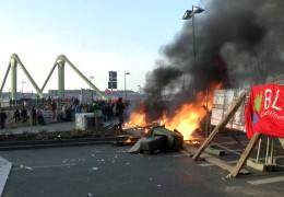 Gewalttätige Blockupy-Proteste