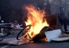 Die Linke  rechtfertigt Blockupy-Demo