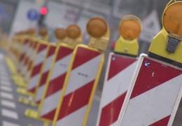 LKW-Kontrollen an der Schiersteiner Brücke