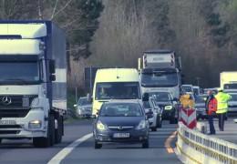 LKW-Verkehr früher auf die Brücke