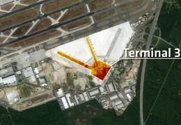 Terminal 3 wird gebaut