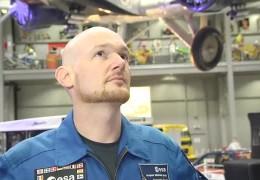 Astronaut Alexander Gerst in Speyer