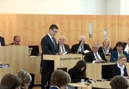 Flüchtlingsdebatte im hessischenLandtag