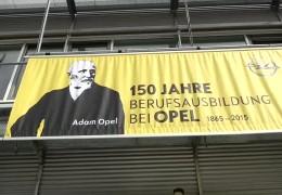 150 Jahre Ausbildung bei Opel