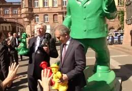 Das Programm: Frankfurt feiert 25 Jahre Wiedervereinigung