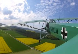 Der Fieseler-Storch: Flugzeug made in Kassel