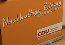 CDU erarbeitet Wahlkampf-Programm
