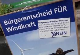 Streit um Windräder im Rheingau